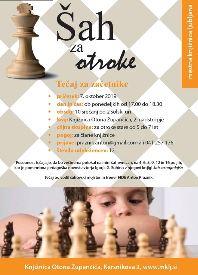 tečaj šaha - Mestna knjižnica Ljubljana